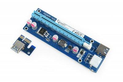 Райзер-карта расширения PCI-Express интерфейса (1 из 4)