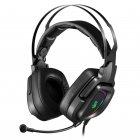Наушники игровые с микрофоном, Hi Fi, 7.1 виртуальный звук, RGB подсветка, USB